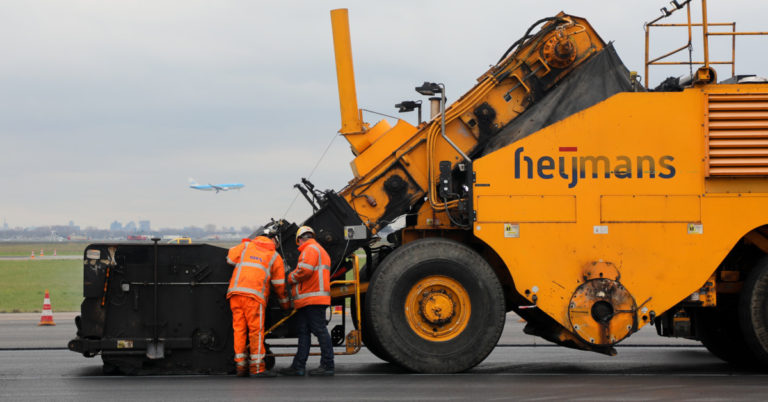 Werkzaamheden aan Polderbaan op Schiphol zijn afgerond