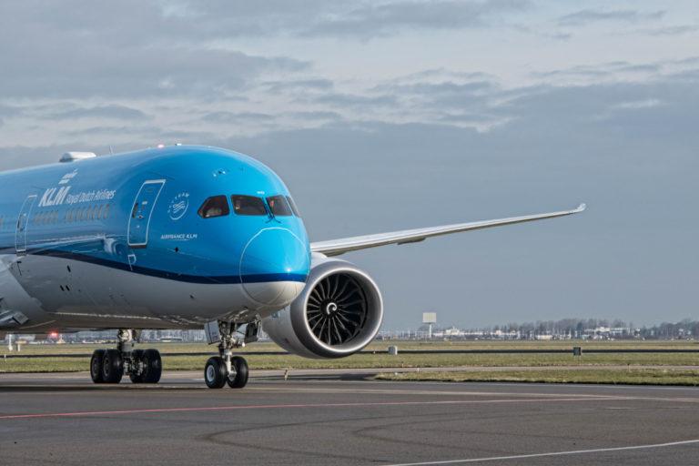 KLM ontvangt nieuwe Boeing 787-9 Dreamliner, Orchidee