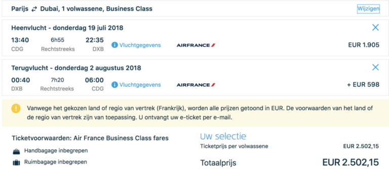 Flying Blue Promo Rewards Mei 2018