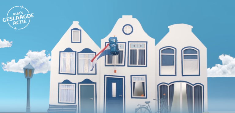 KLM Geslaagde Actie voor examenkandidaten