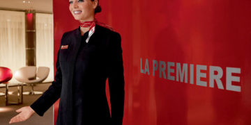 Air France La Premiere lounge