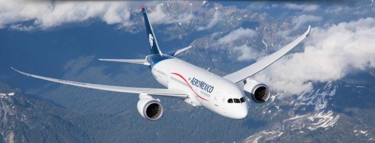 De Dreamliner is een populair toestel (Bron: Aeromexico)