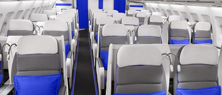 Interieur Airbus A340 van Joon (Bron: Joon)
