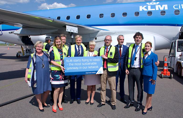 Växjö: KLM's meest duurzame bestemming (Bron: KLM)