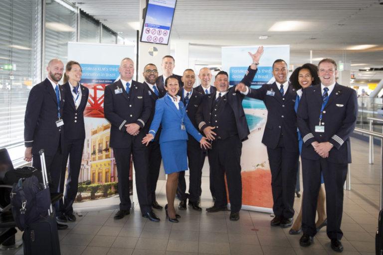 Eerste KLM-vlucht naar Fortaleza is vertrokken