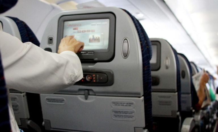 Economy cabine van Avianca Brasil
