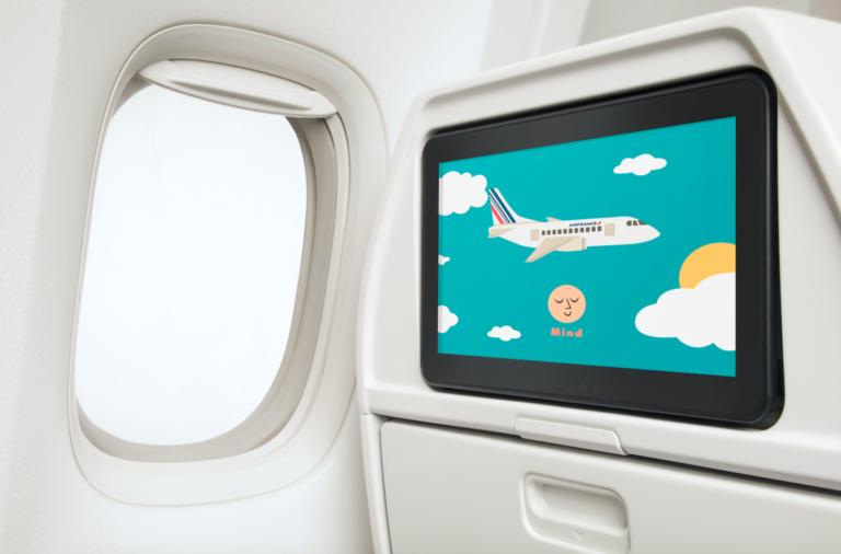 Nieuwe kids-gadgets voor een onbezorgde reis bij Air France