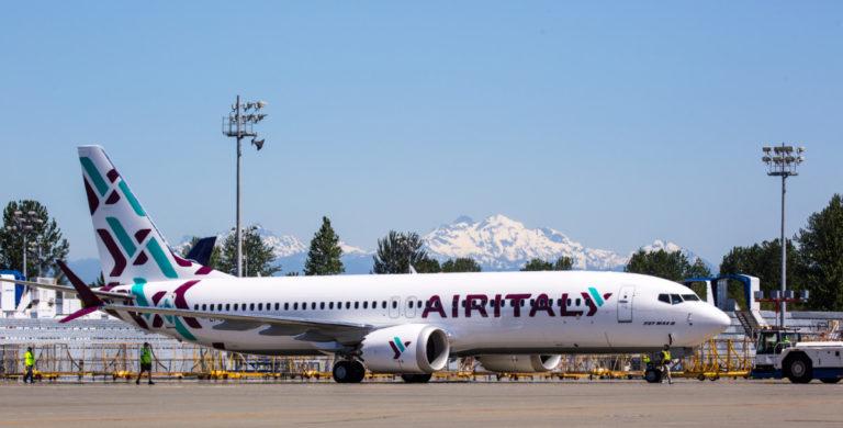 Boeing 737-8 van Air Italy
