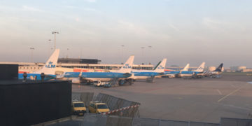 Review - Amsterdam - Hannover met KLM