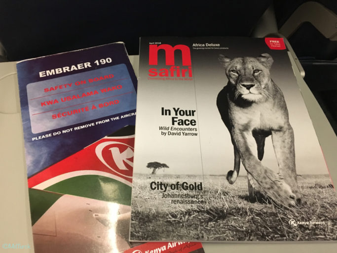 Review Kenya Airways Business Class en Economy Class MBA naar NBO