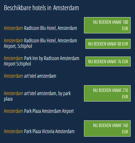 Radisson Rewards Dream Deals Amsterdam