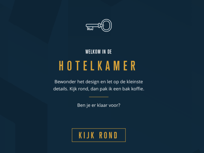 Win een hotelovernachting met de Accor Game, Riddle Room