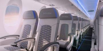 Stoelen in de CRJ900