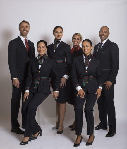 Alitalia vernieuwt, en wel met een totaal nieuw uniform