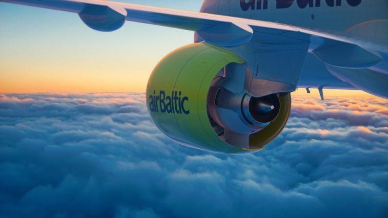 De 'stille' motoren van de Bombardier CS300