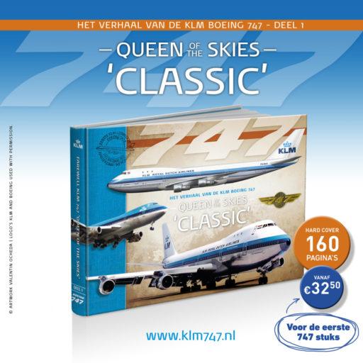 Afscheid KLM Boeing 747 wordt gevierd met uitgifte van speciaal boek