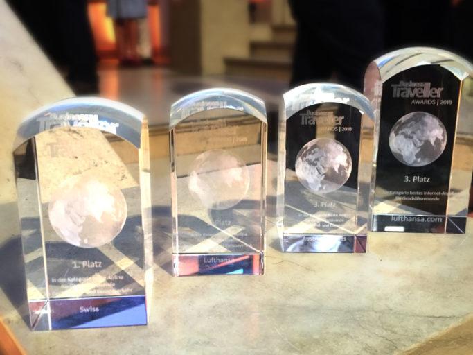 De Awards die Lufthansa Group afgelopen weekend mee naar huis nam