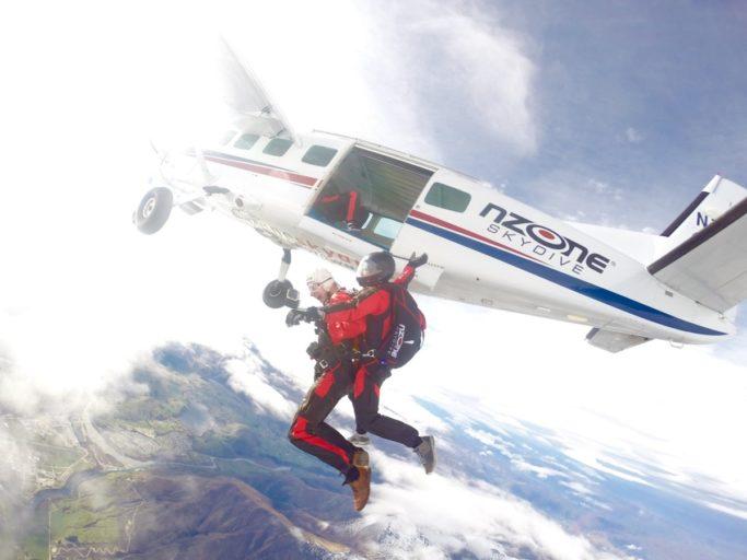 skydiven, nieuw Zeeland, vliegtuig