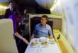 Thai airways, first class, trip report, boeing 747