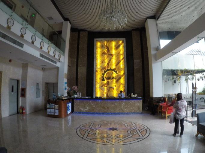 hotel, sunland, lobby, receptie, ho chi Minh city