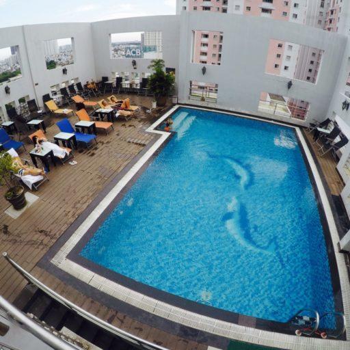 zwembad, sunland, hotel, ho chi Minh city