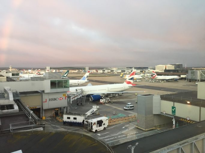 BA, British Airways, Gatwick, Jersey