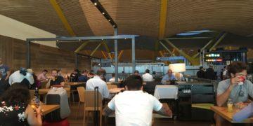 tijdelijke lounge madrid iberia, VIP, dali lounge, Iberia