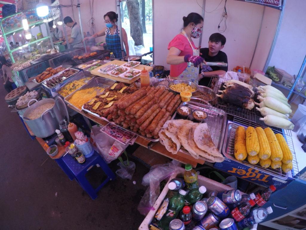 ho chi Minhstad, markt, vietnam