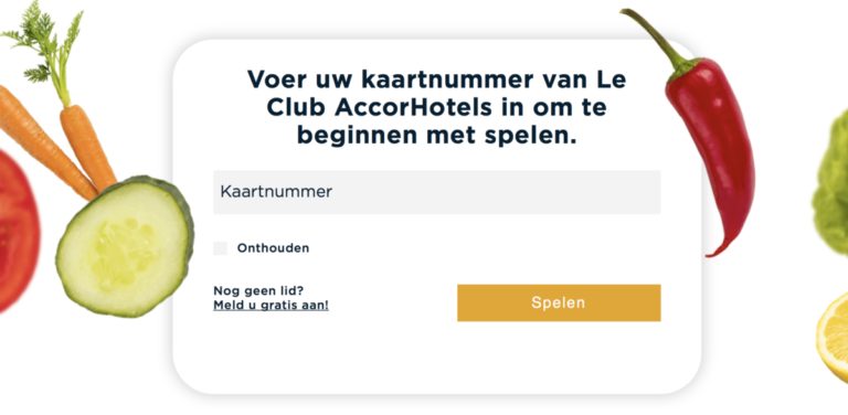Win tot 203.000 Accor Rewards-punten met de Food Reward Explorer
