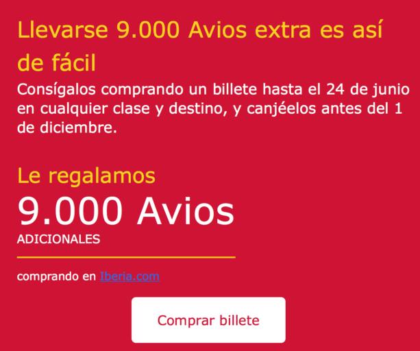 iberia, Iberia plus, avios