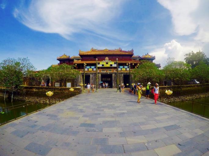 huë, vietnam, architectuur