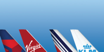 Delta Virgin AIr France KLM