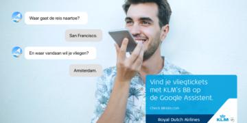 KLM Google Blue Bot