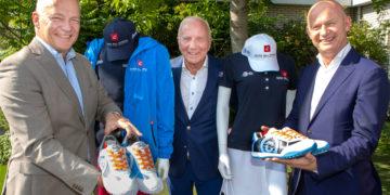 Speciale KLM Open kleding gepresenteerd door Duca del Cosma