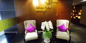 thai airways, royal first, first class, lounge, bangkok
