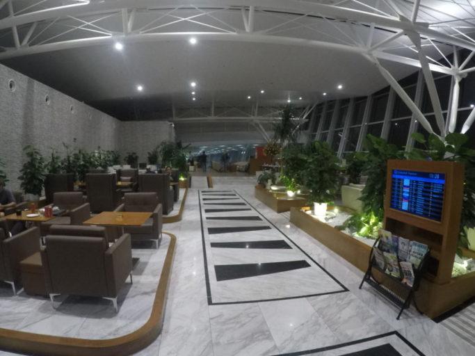 AGV, business lounge