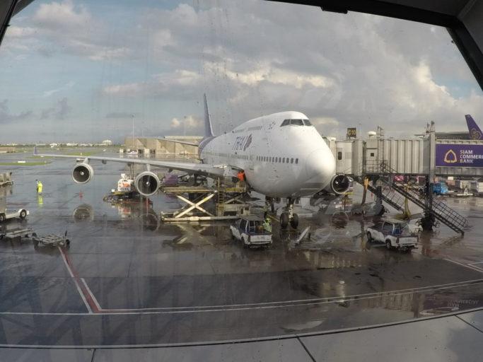 thai airways, boeing 747