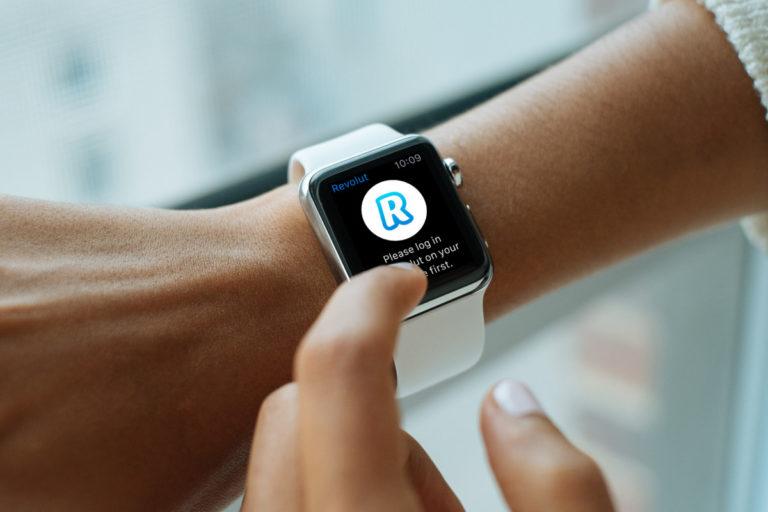 De Revolut App is ook beschikbaar voor Apple Watch (Bron: Revolut)