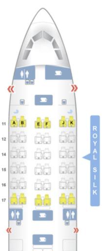 thai airways, a330, airbus, business class