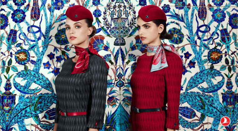 Het nieuwe uniform van Turkish Airlines (Bron: Turkish Airlines)
