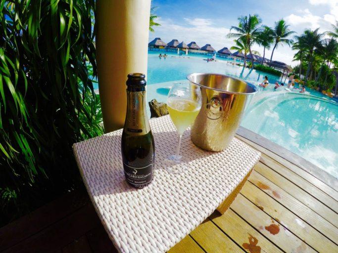 champagne, Conrad, bora bora nui