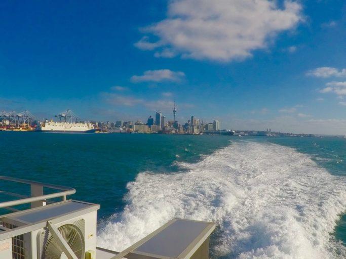 ferry, Auckland, nieuw Zeeland, Devonport