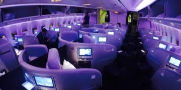 air new Zealand, business class, boeing 777