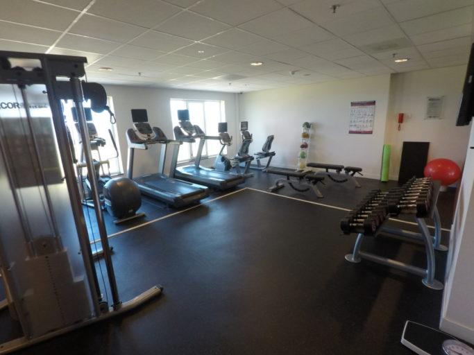 hilton, garden inn, fitnessruimte