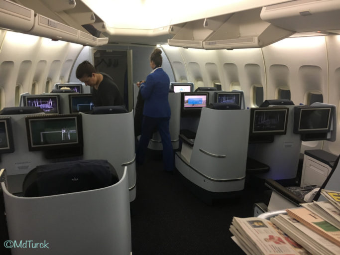 Review Nairobi --> Amsterdam met KLM in World Business Class