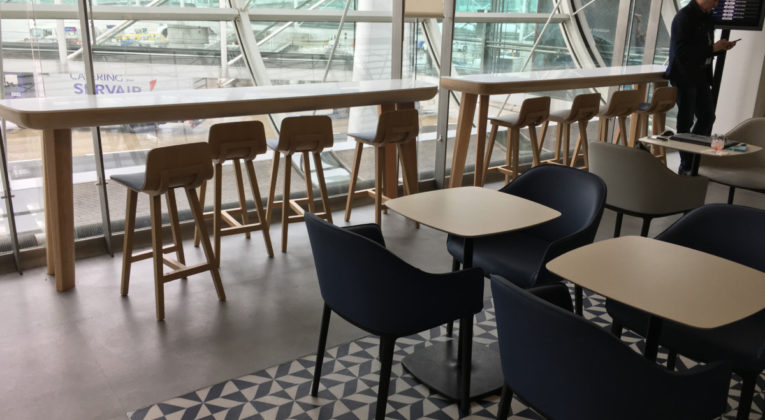 Review Salon Lounge Air France Terminal 2F (vernieuwd)