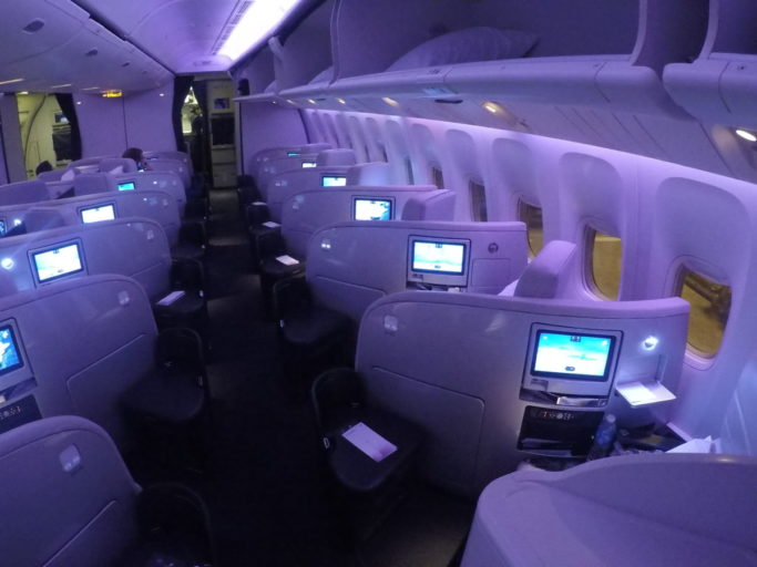 air new Zealand, business class, boeing 777
