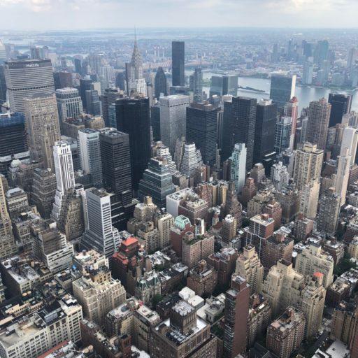 "De ""concrete jungle"" genaamd New York."