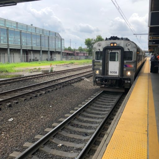 NJ Transit naar NY.