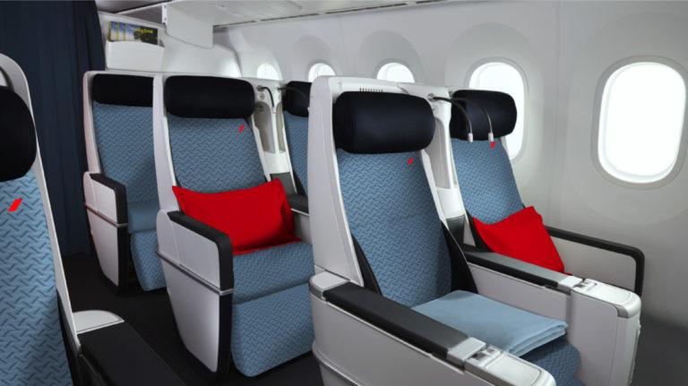 Airbus A330 van Air France ondergaat een innerlijke metamorfose